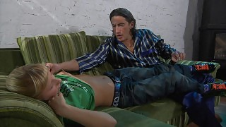 Naughty girl gets the most from the old man\s experience in hardcore sex videos